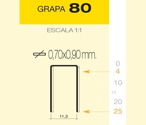 MILLAR GRAPA 80/25