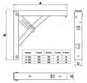 PALOMILLA 8-400X400 CROMADO