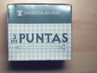 Kg PUNTA C/PLANA 12x030