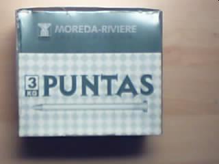 Kg PUNTA C/PLANA 17x070