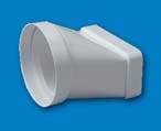 EMPALME PVC MIXTO 100MM REF 0520