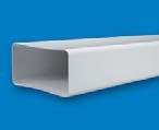 TUBO PVC RECTANG 110x55 REF 0501
