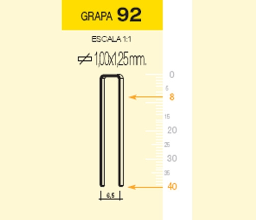 MILLAR GRAPA 92/20