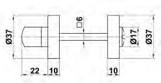 MULETILLA ROSETA 3 INOX C/DESB