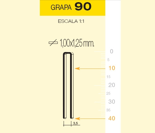 MILLAR GRAPA 90/40