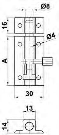 PASADOR 500-150 PLATA