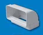 CODO PVC RECTANGULAR VER. REF 530