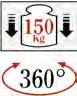 SOPORTE GIRATORIO 300-400