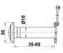 MIRILLA 5-16 DE 60 A 85 CR MATE