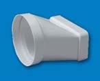 EMPALME PVC PARED MIXTO 100MM REF 545