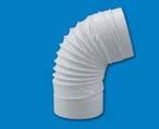 CODO PVC REDONDO FLEXIBLE 100MM REF CRF 100