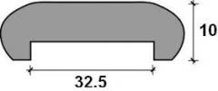 MOLDURA U-32 MEL.HAYA B 2.43