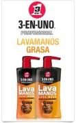 LAVAMANOS GRASA 500ml 3-EN-UNO