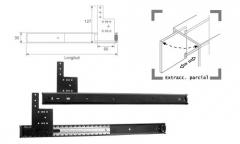 GUIA TELESCOPICA FLIP GEP/TV450+428mm