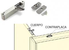 AMORTIGUADOR OCULTO PUERTA 14-40 KG DCH 97086